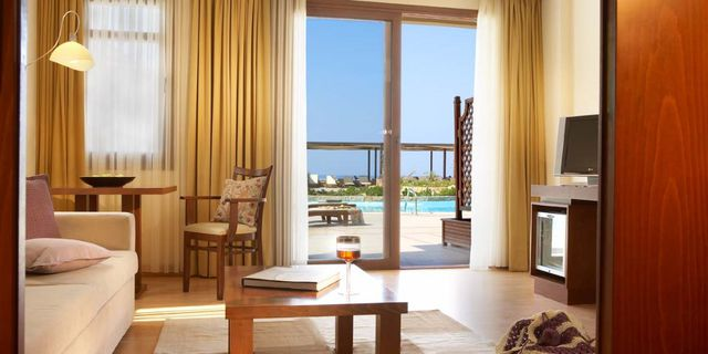 Anthemus Sea Beach Hotel & Spa - deluxe suite (sea or pool view)